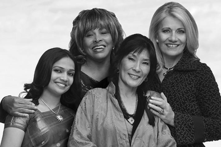 Dechen Shak-Dagsay, Tina Turner, Sawani Shende-Sathaye, Regula Curti