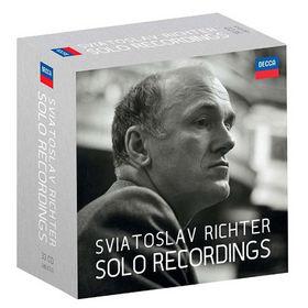 Sviatoslav Richter, Sviatoslav Richter: Solo Recordings, 00028948087457