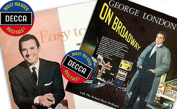 Decca's Most Wanted Recitals!, George London und Cesare Siepi singen Broadway-Songs