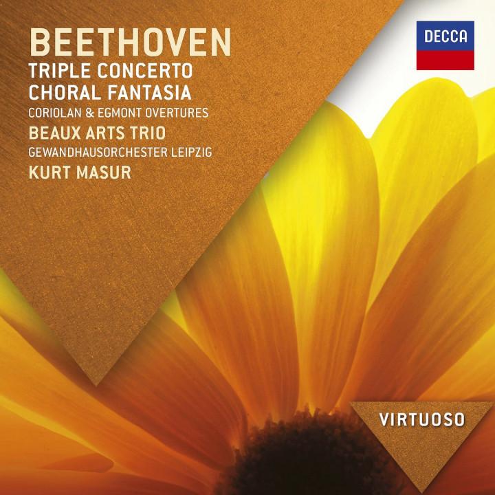 *NEU:Beethoven: Tripelkonzert; Chorfantasie: Beaux Arts Trio/Masur/Pressler/GOL/+