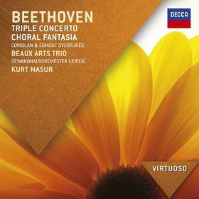 Virtuoso, Beethoven Tripelkonzert: Chorfantasie, Coriolan & Egmont Ouvertüre, 00028947869627