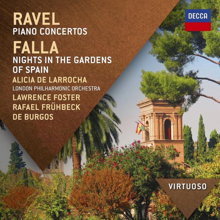 *NEU:Ravel: Klavierkonzerte; Falla: Nächte In Spanische: Larrocha/Foster/LPO/+