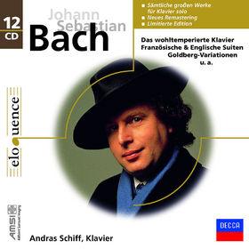 András Schiff, Johann Sebastian Bach: Das wohltemperierte Klavier, Französische&Englische Suiten, Goldberg-Varia, 00028948012268
