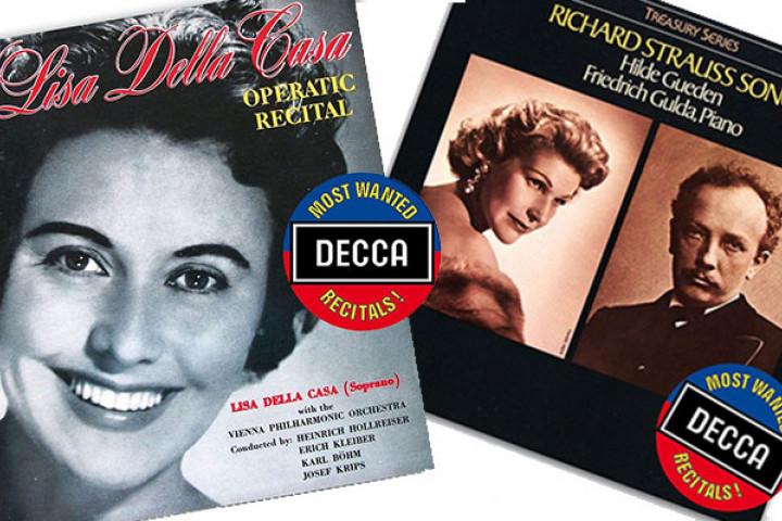 Die Serie decca Most Wanted - Lisa della Casa und Hilde Güden