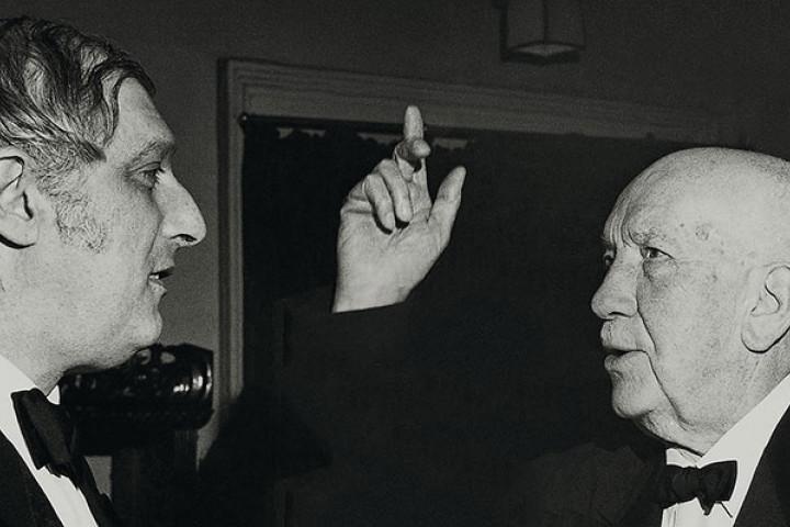 Clemens Krauss und Richard Strauss