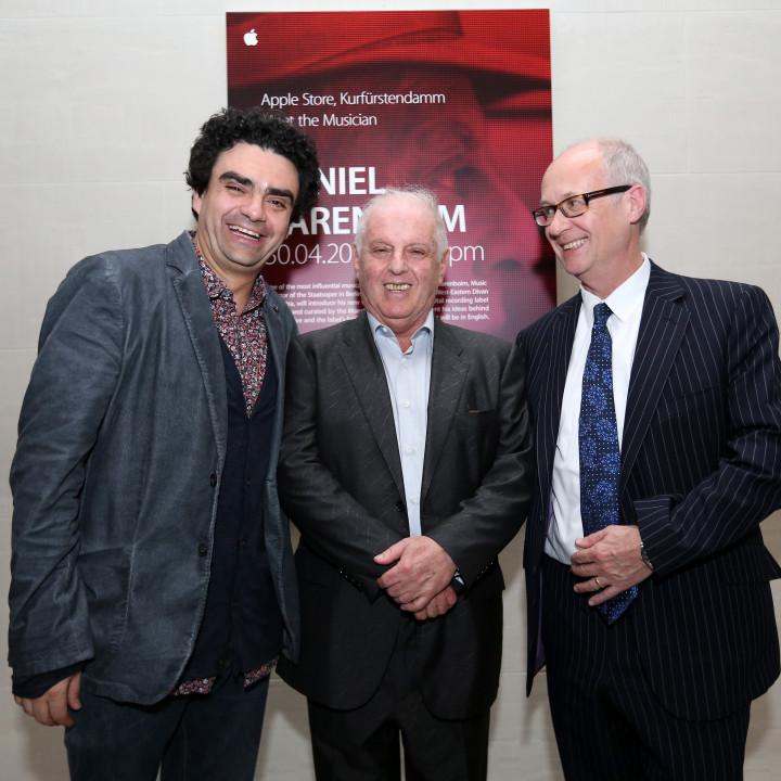 Rolando Villazón, Daniel Barenboim, Max Hole