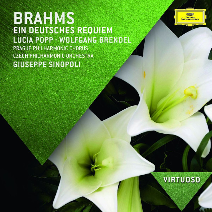 *NEU:Brahms: Ein deutsches Requiem: Sinopoli/Popp/Brendel,W./Prague Philharmonic Orche