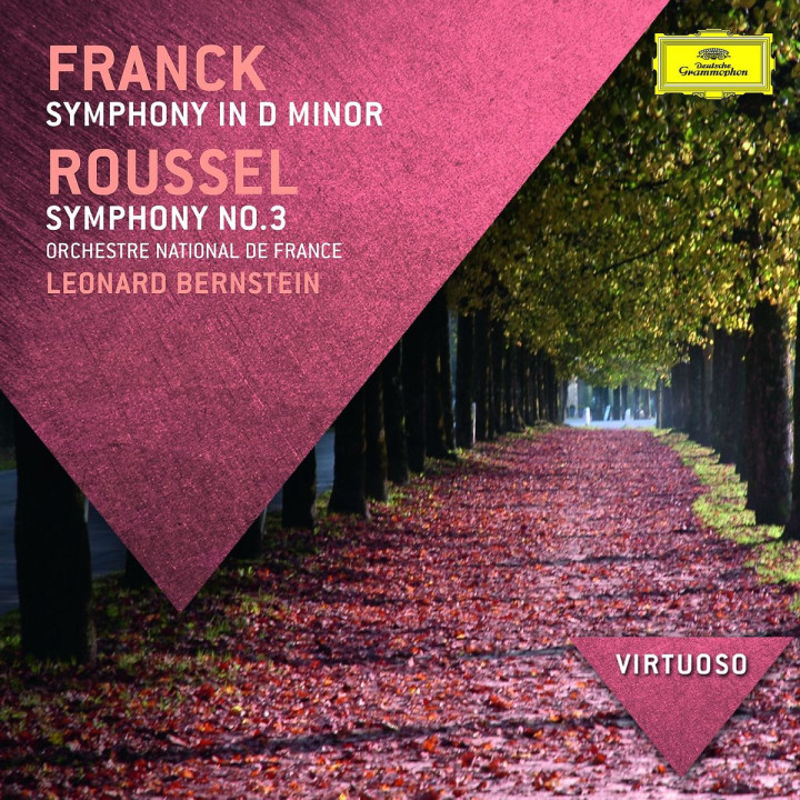 *NEU:Franck: Sinfonie in d-moll; Roussel: Sinfonie Nr.3: Bernstein/Orchestre National de France