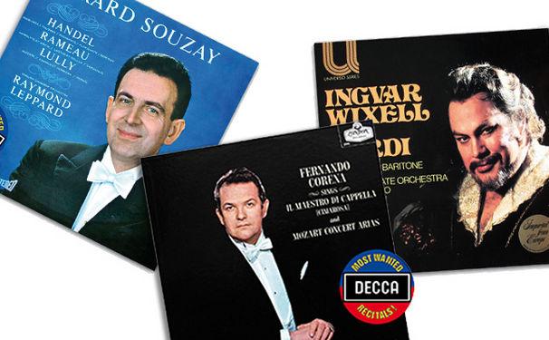 Decca's Most Wanted Recitals!, Magie der dunklen Stimmen - Opern-Recitals von Corena, Wixell und Souzay