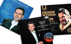 Decca's Most Wanted Recitals!, Magie der dunklen Stimmen - Opern-Recitals von Corena, Wixell ...