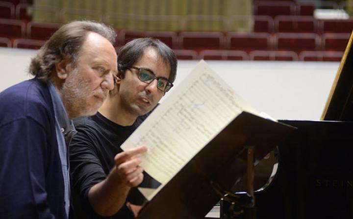 Riccardo Chailly & Saleem Ashkar