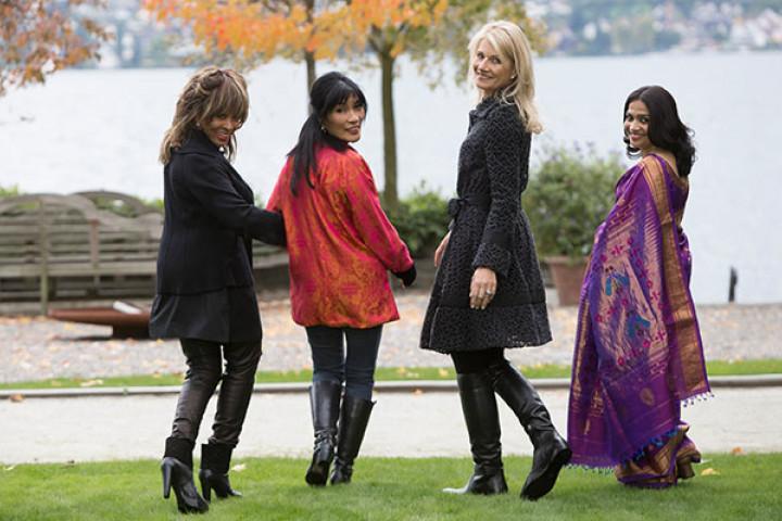Tina Turner, Dechen Shak-Dagsay, Regula Curti, Sawani Shende-Sathaye