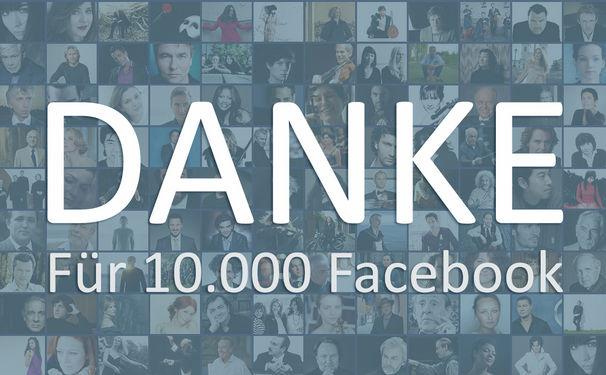 Wir sagen Danke: KlassikAkzente feiert 10.000 Facebook-Fans