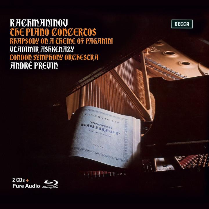 Rachmaninoff: Klavierkonzerte 1- 4