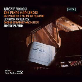 Vladimir Ashkenazy, Rachmaninoff: Klavierkonzerte 1- 4, 00028947864431