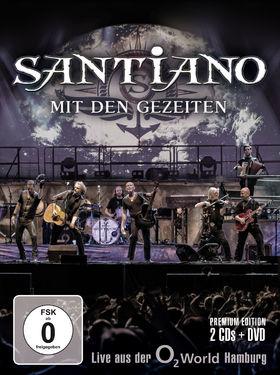 Santiano, Mit den Gezeiten - Live aus der o2 World Hamburg, 00602537789139