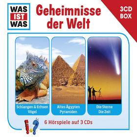 Was ist Was, Was Ist Was 3-CD Hörspielbox Vol.3 - Geheimnisse der Welt, 09783788670238