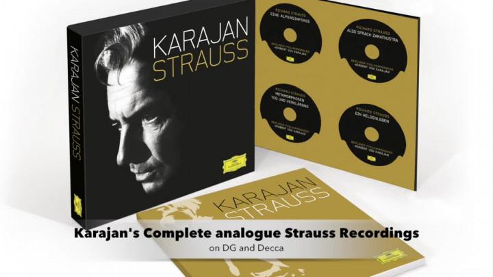 Karajan/ Strauss: Sämtliche analogen Aufnahmen