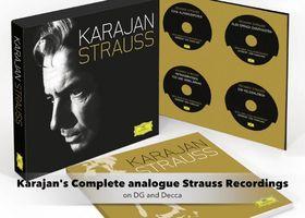 Herbert von Karajan, Karajan/ Strauss: Sämtliche analogen Aufnahmen