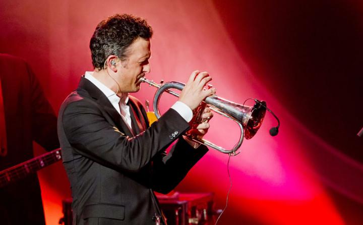 Till Broenner beim ECHO Jazz 2014 // Credit Monique Wuestenhagen/BVMI