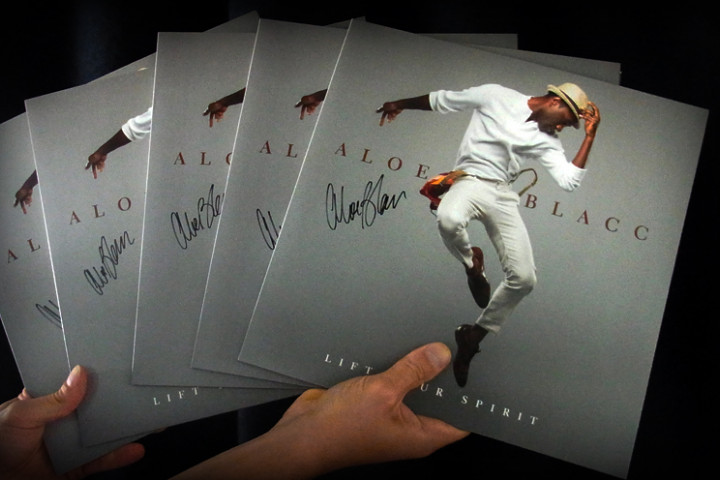 "Aloe Blacc Vinyls ""Lift Your Spirit"""