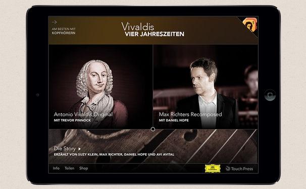 Max Richter, APPlaus, APPlaus! - iTunes prämiert die Vivaldi-App der DG!