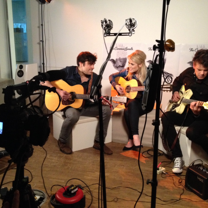 The Common Linnets – Foto 1 vom Acoustic Set bei Universal