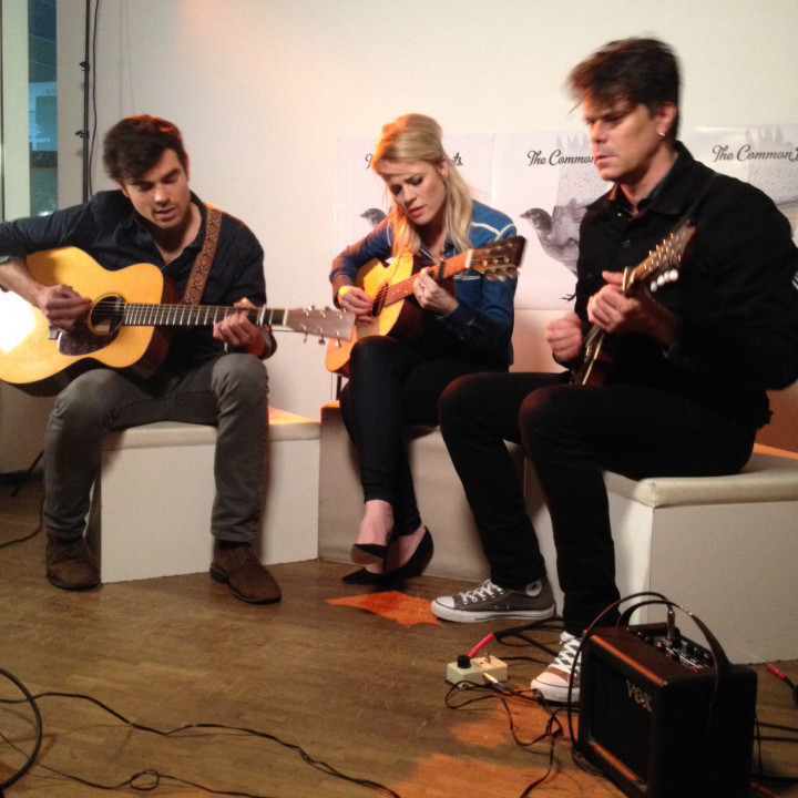 The Common Linnets – Foto 2 vom Acoustic Set bei Universal