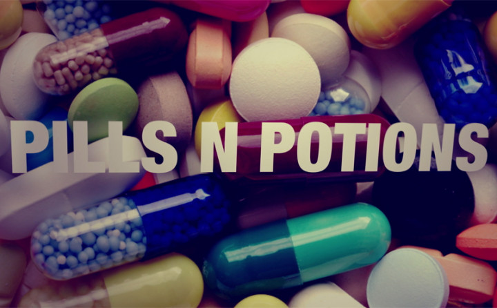 Pills N Potion (Lyric Video)