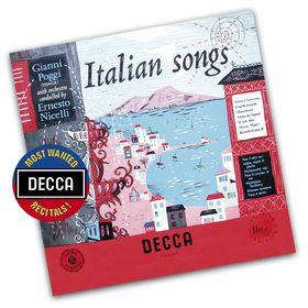 Decca's Most Wanted Recitals!, Gianni Poggi - Italienische Lieder, 00028948081707