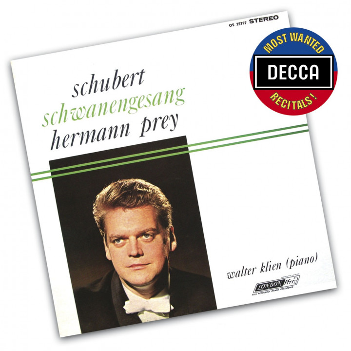 Most Wanted Recitals - Hermann Prey