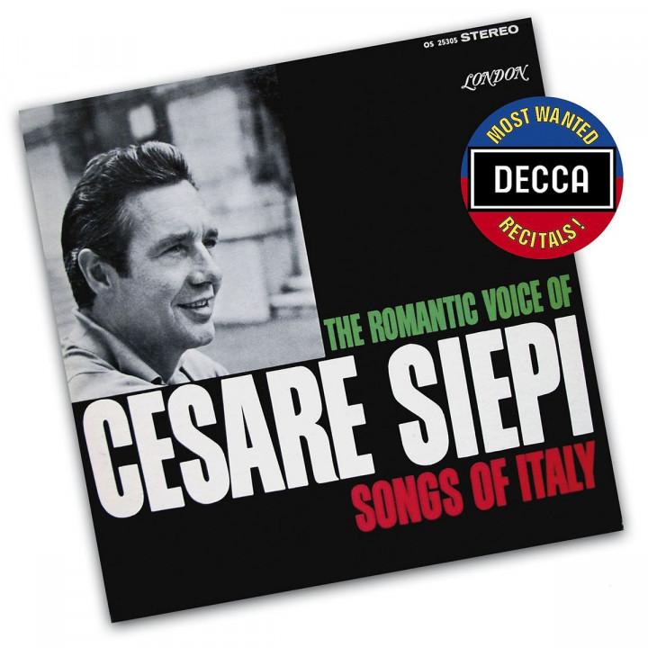Cesare Siepi: Lieder aus Italien