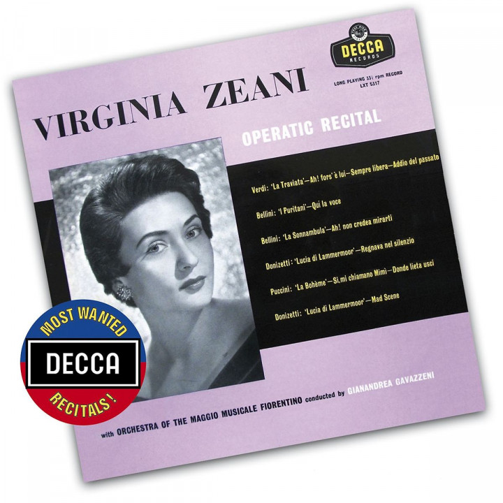 Zeani: Opern - Recital Decca Most Wanted Recitals