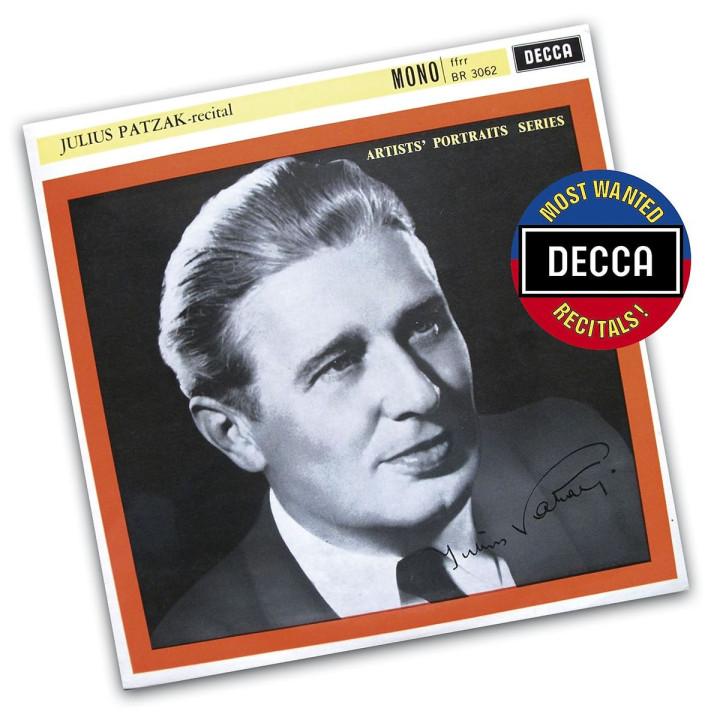 Decca's Most Wanted Recitals - Julius Patzak - Recital
