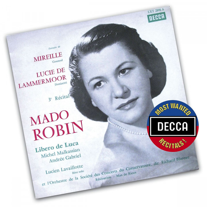 Decca's Most Wanted - Mado Robin