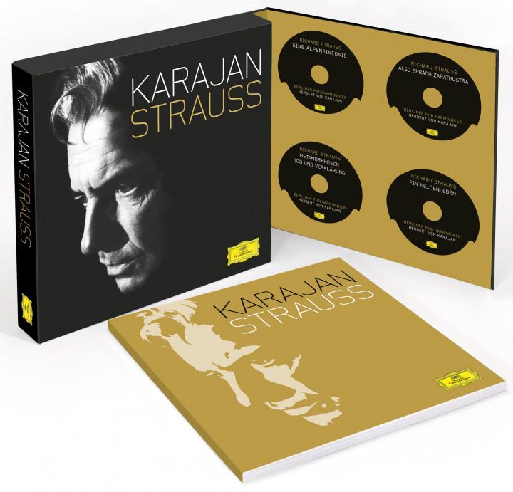 Karajan / Strauss : Sämtliche analogen Aufnahmen
