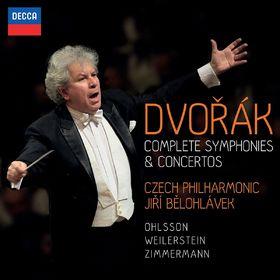Box-Sets und Editionen, Dvorák: Sämtliche Symphonien und Konzerte, 00028947867579