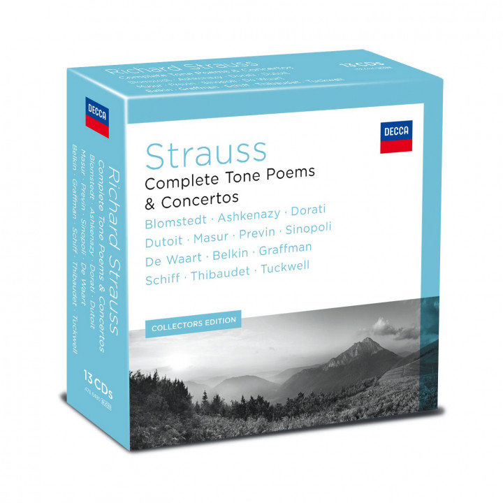 Richard Strauss - Complete Tone Poems & Concertos