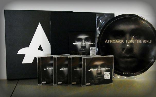 Afrojack, Gewinnt signierte Afrojack CDs seines neuen Albums Forget The World