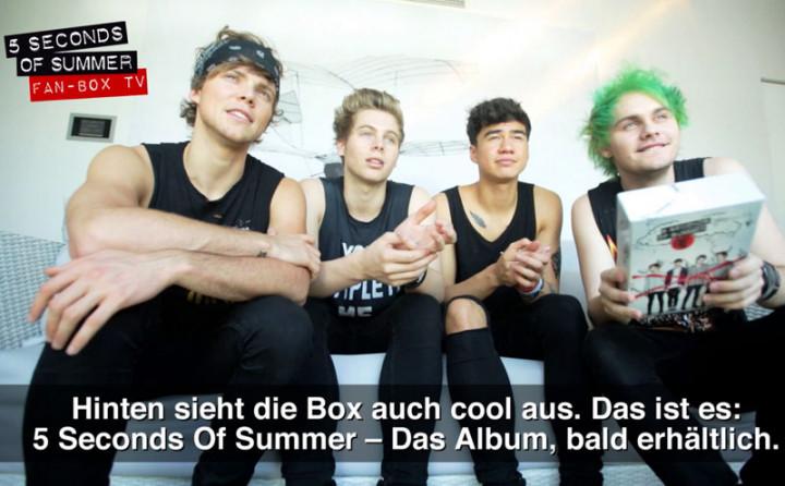 5 Seconds Of Summer Fan-Box - Erklärung und Special