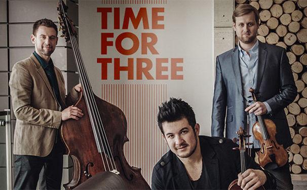 Diverse Künstler, Time for Three vereinigen Klassik und Pop
