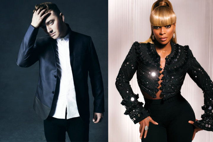 MAry J. Blige Sam Smith