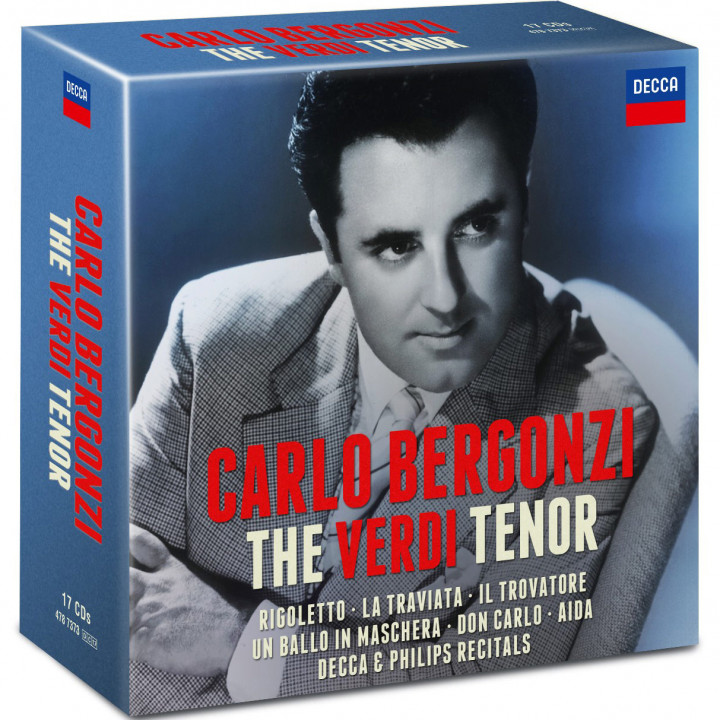 Carlo Bergonzi - The Verdi Tenor