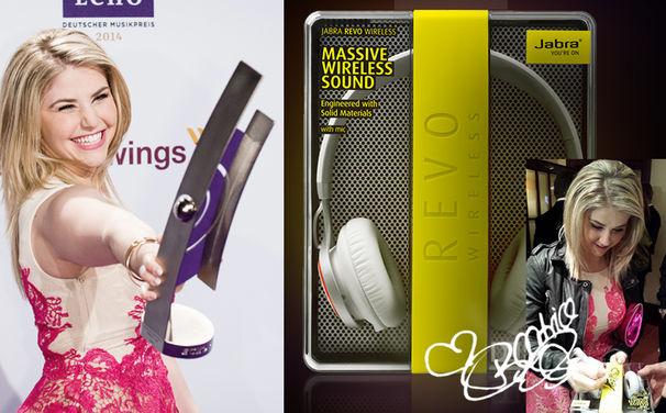 Beatrice Egli, Von Beatrice Egli für euch signiert: Gewinnt schnurlose Kopfhörer von Jabra