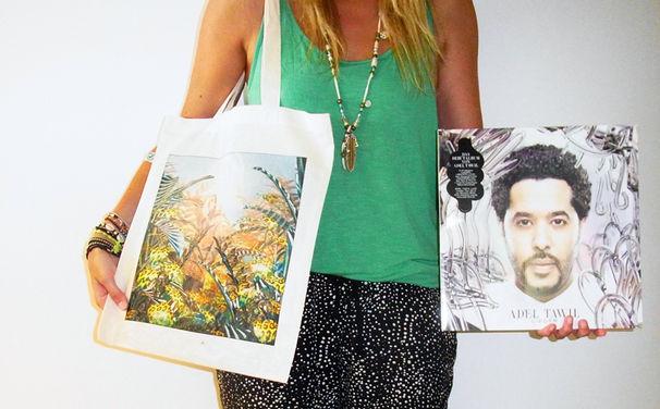 Adel Tawil, Gewinnt sommerliche Adel Tawil Beutel gefüllt mit Doppel-Vinyls