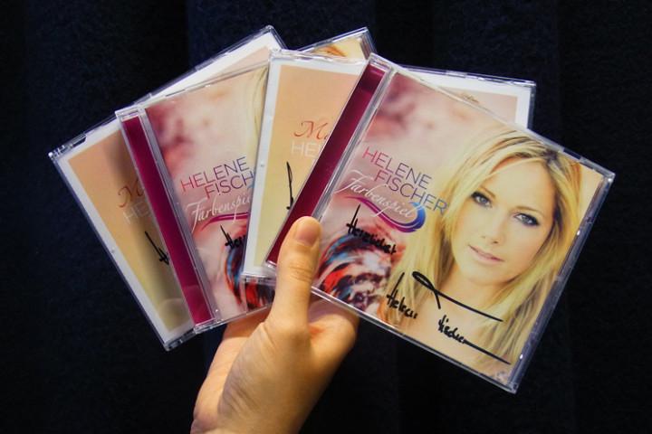 Helene Fischer - Signierte CDs