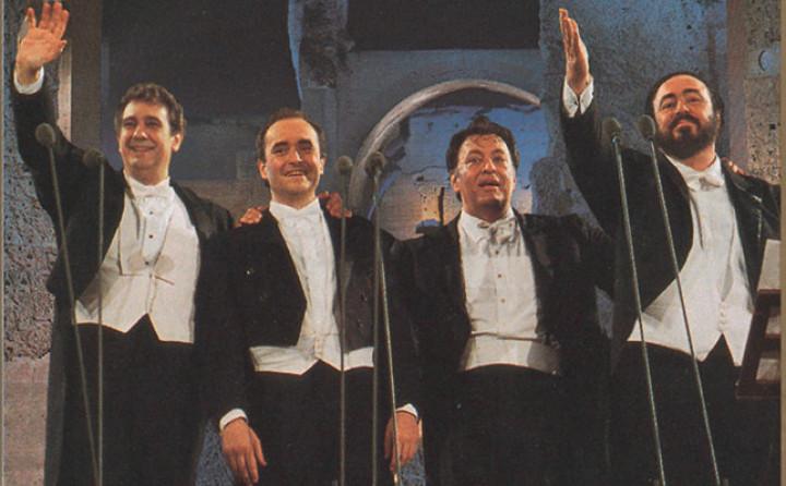 Placido Domingo, José Carreras, Luciano Pavarotti