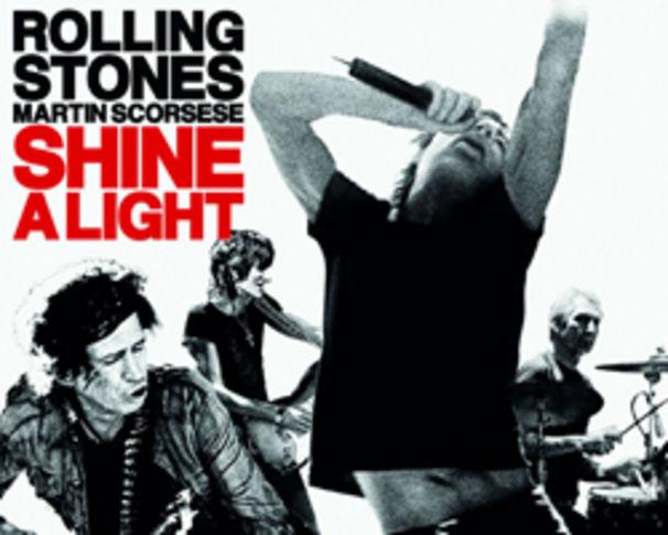 The Rolling Stones, Pre-Listening zum neuen Album Shine A Light, Rolling Stones Shine A Light Cover