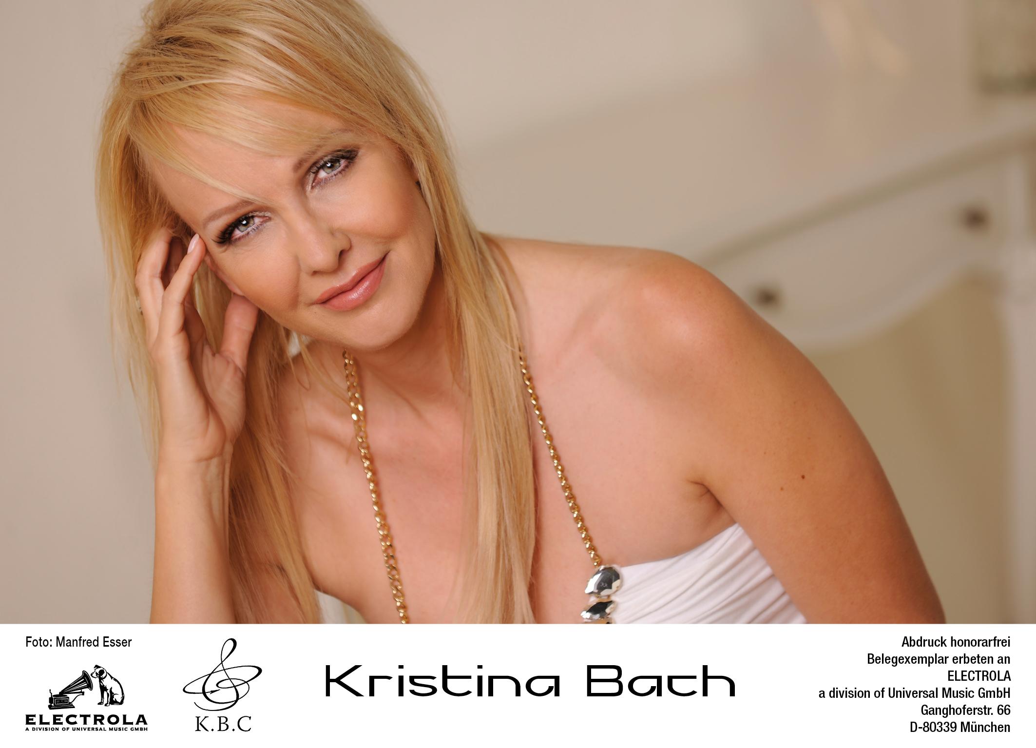 Kristina nackt Bach Kristina Bach