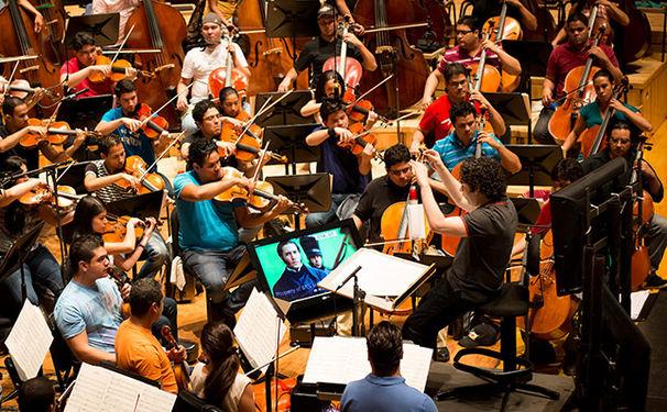 Gustavo Dudamel, Dudamels Filmmusik für Libertador